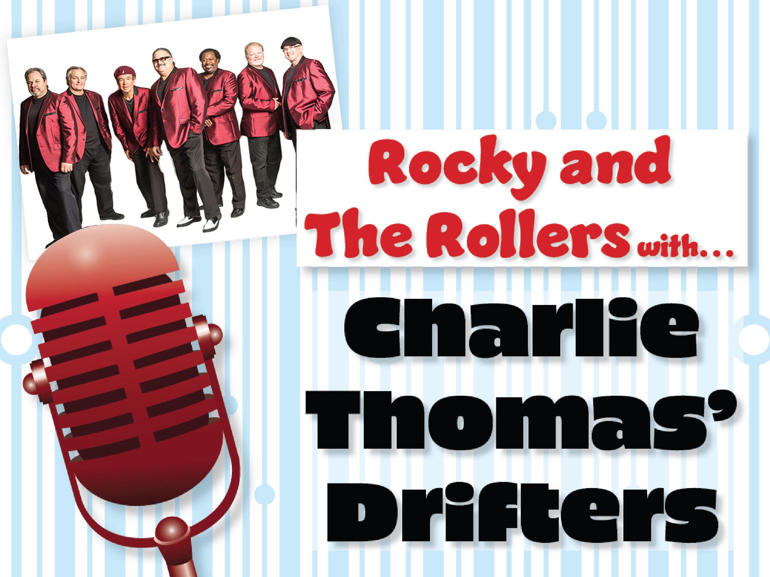 doo wop n rock series: charlie thomas drifters & joey dee Image