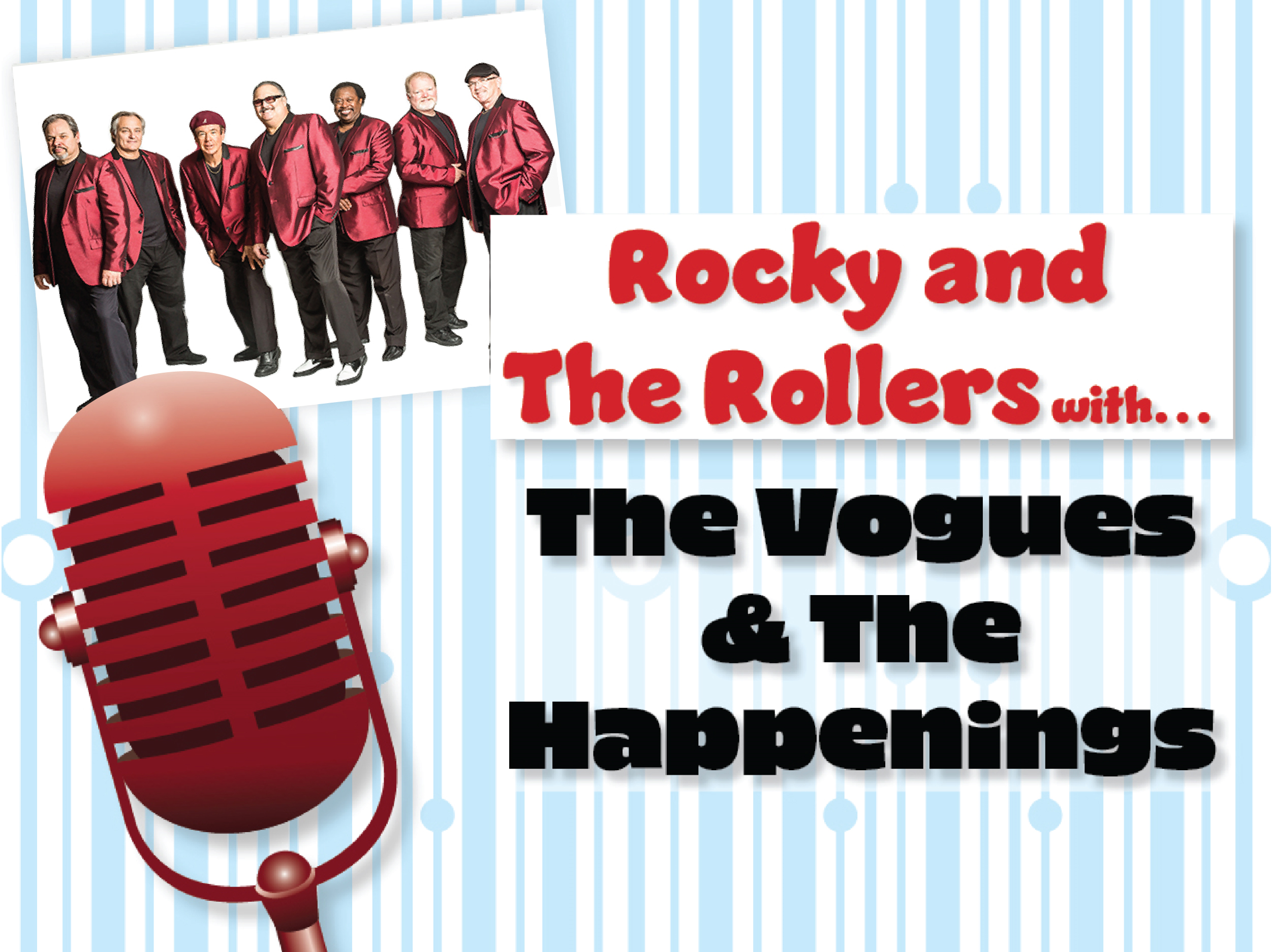 doo wop n rock series: the vogues & the happenings Image