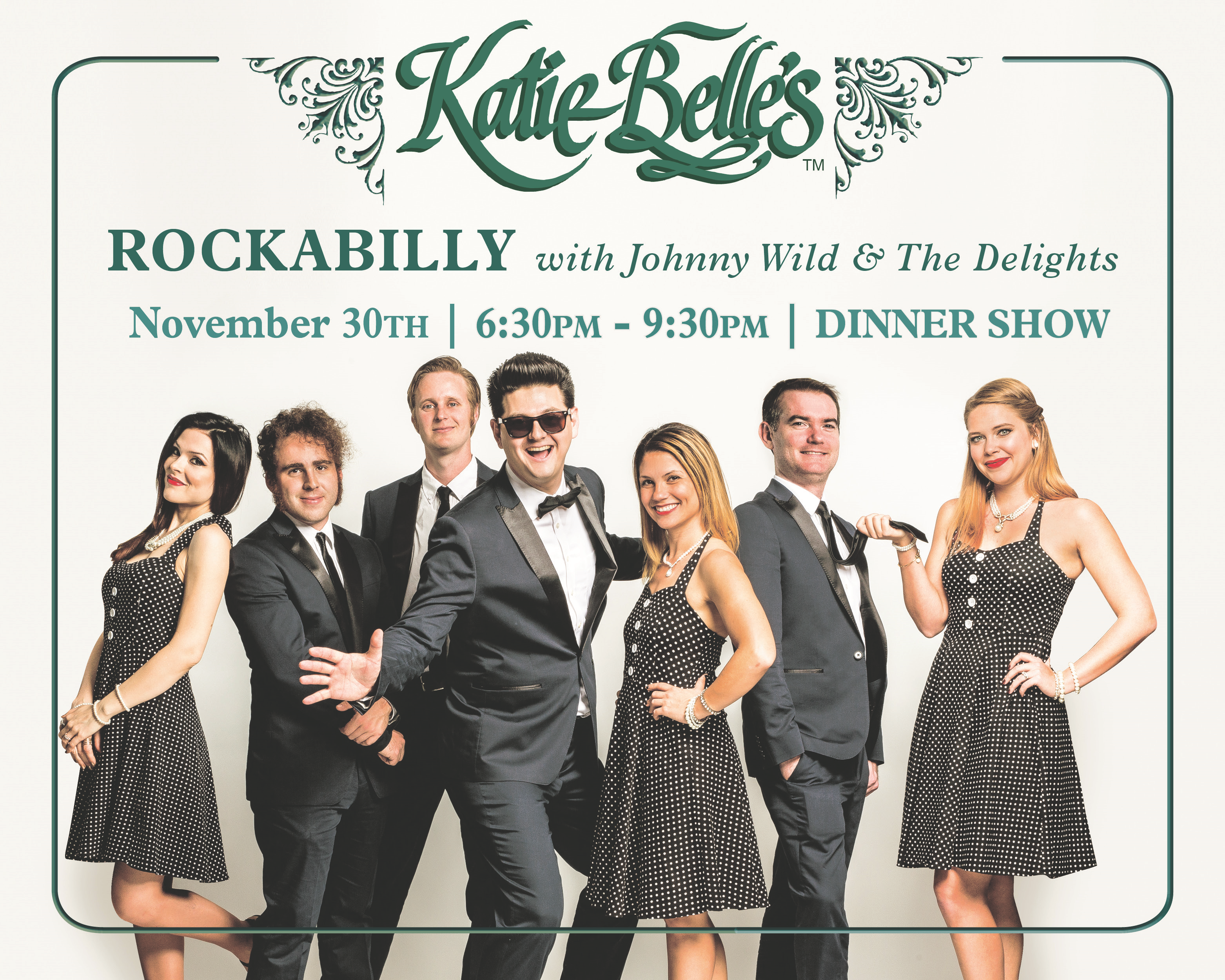 johnny wild & the delights - rockabilly show Image