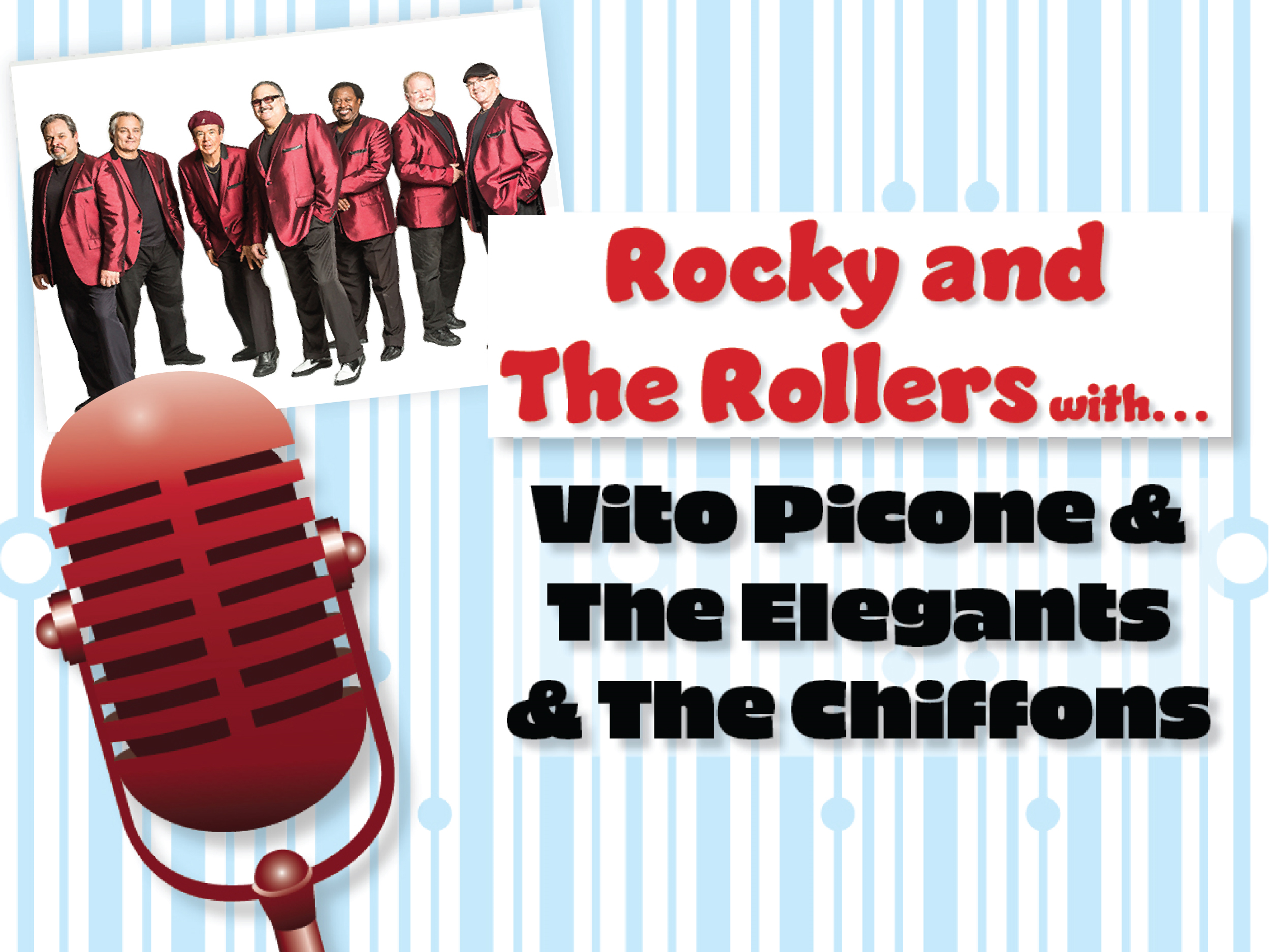 doo wop n rock: vito picone, the elegants, the chiffons Image
